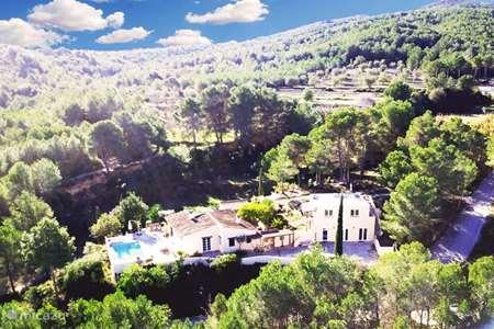 Vakantiehuis Spanje, Costa Blanca, Javea - finca  Finca Vuyatela suite Granota