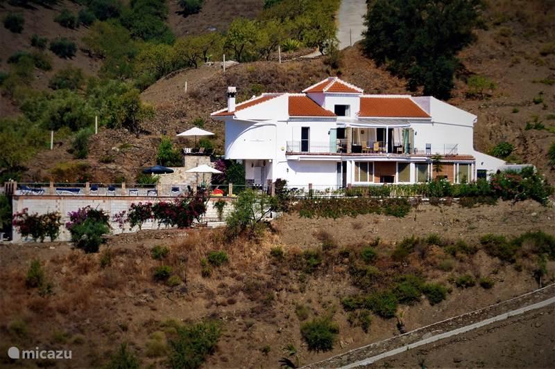 Vakantiehuis Spanje, Andalusië, Árchez Bed & Breakfast B&B Villa Archez