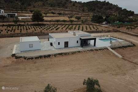 Vakantiehuis Spanje, Murcia, Cañada de la Leña villa Casa de la Leña