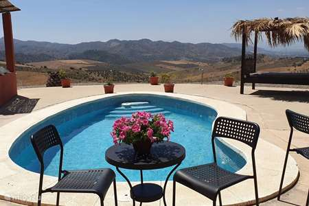 Vacation rental Spain, Andalusia, Alora holiday house Casa Tranquilo with private pool