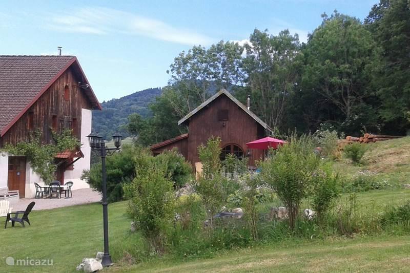 Vakantiehuis Frankrijk, Vogezen, Ban-sur-Meurthe-Clefcy Gîte / Cottage Bellevue, cosy-cabane
