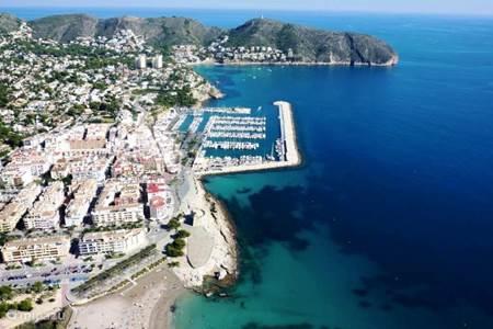 Jachthaven van Moraira...
