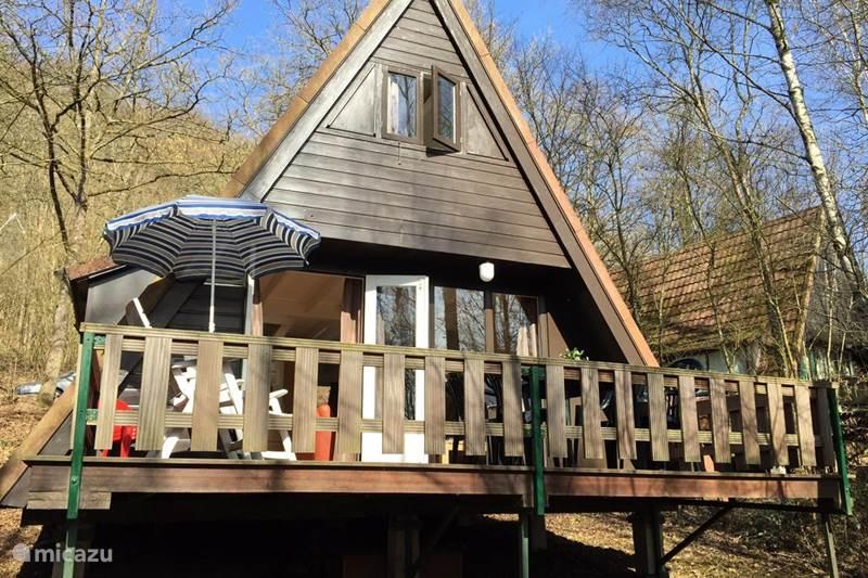 Vakantiehuis België, Ardennen, Durbuy Bungalow Ardennenhuisje 163
