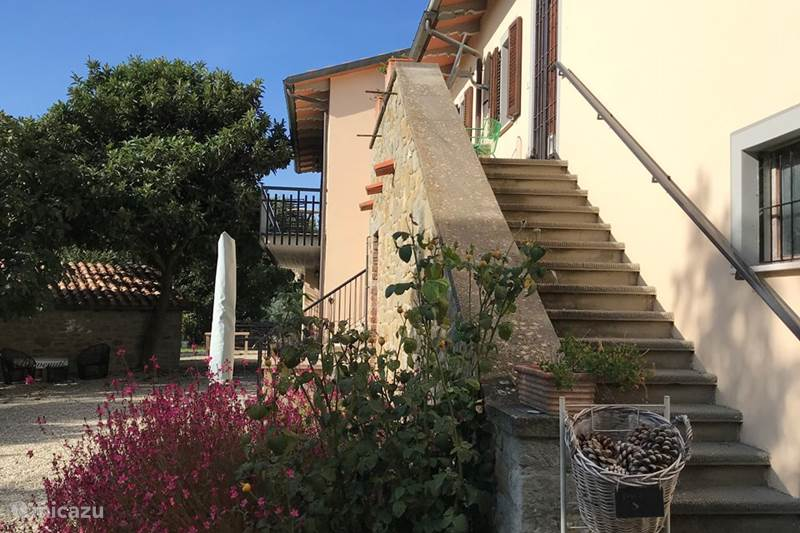 Vakantiehuis Italië, Umbrië, Tuoro sul Trasimeno Appartement Villa Roccaccia - La Cucina