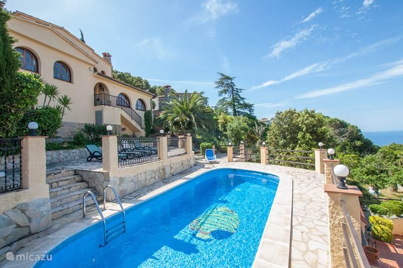 Vakantiehuis Spanje, Costa Brava, Lloret de Mar Vakantiehuis Villa Angelina
