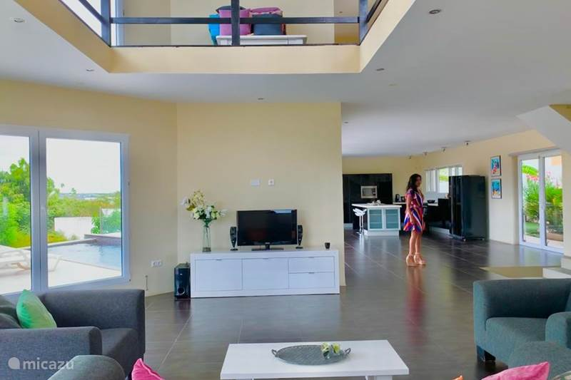 Ferienwohnung Curaçao, Banda Ariba (Ost), Brakkeput Abou Villa Villa 5 Estrellas
