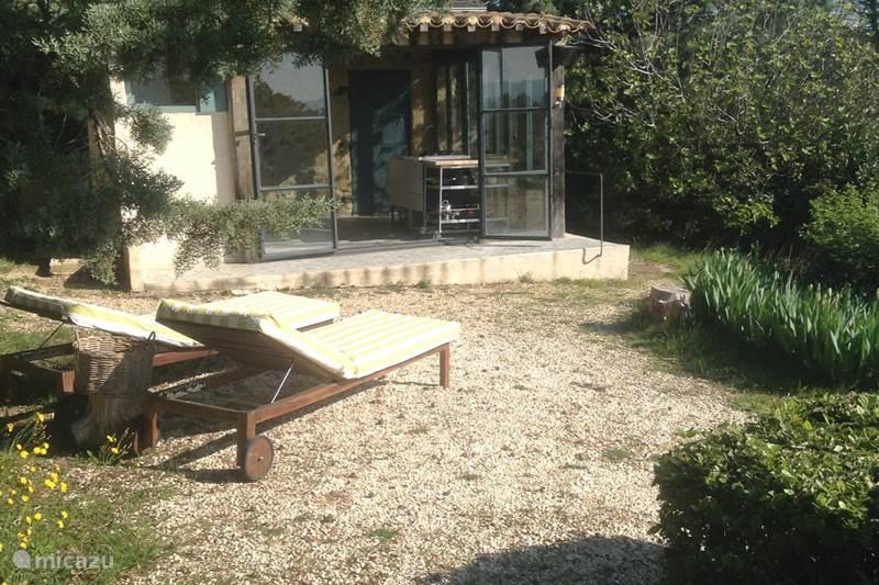 Vakantiehuis Frankrijk, Gard, Saint-Brès Gîte / Cottage Huis in olijvenboomgaard