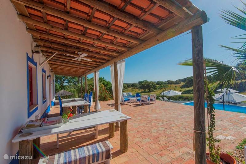 Vakantiehuis Portugal, Alentejo, São Domingos Blokhut / Lodge Casa Nova Lodge