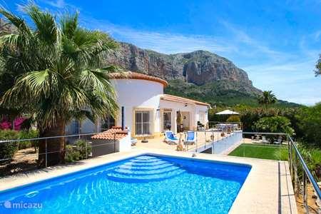 Vakantiehuis Spanje, Costa Blanca, Javea villa Casa Montgo Risa