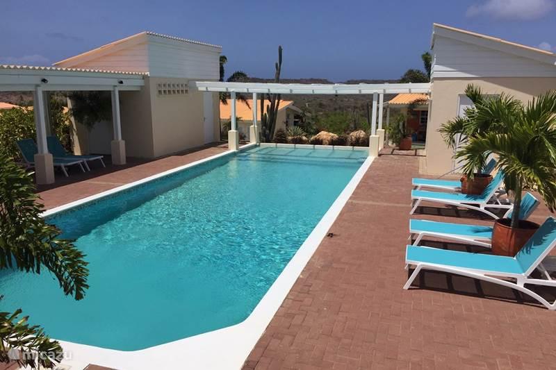 Vakantiehuis Curaçao, Banda Ariba (oost), Santa Catharina Appartement Groot appartement met zwembad