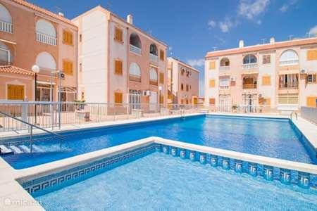 Vakantiehuis Spanje, Costa Blanca, Torrevieja appartement Vakantiehuis 'Sol y Playa'