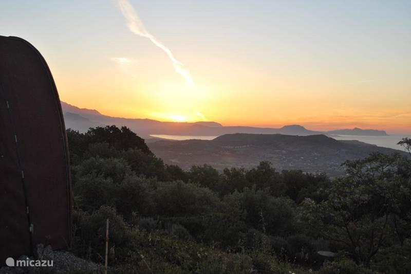 Vakantiehuis Griekenland, Kreta, Kástellos (Rethymno) Glamping / Safaritent / Yurt Glamping Pod