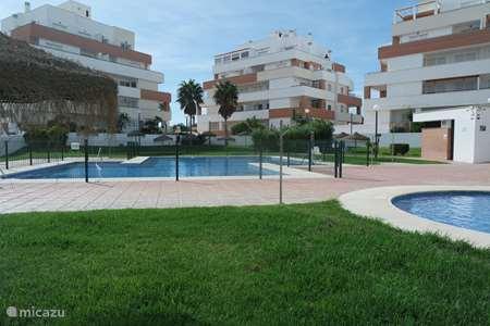 Vakantiehuis Spanje, Costa de Almería, Roquetas de Mar appartement Aqua Serena voor strand en golf