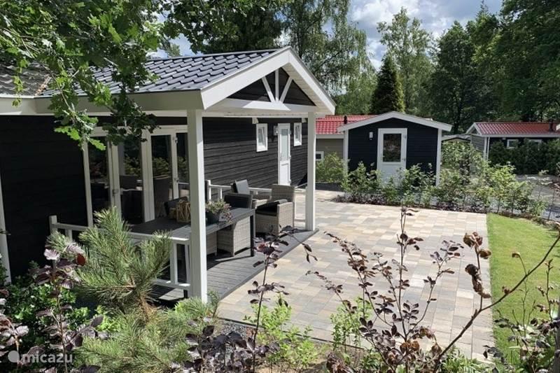 Vakantiehuis Nederland, Utrecht, Rhenen Chalet Vakantiewoning in de bossen - 97