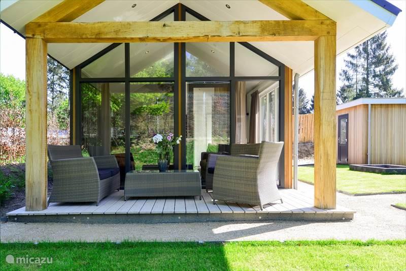 Vakantiehuis Nederland, Utrecht, Rhenen Chalet Eco Cottage in de bossen! - Nr. 260