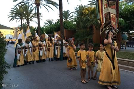 Moros y Christianos in  Moraira
