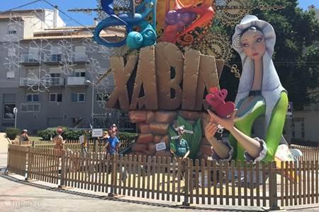 Lokaal feest in Javea