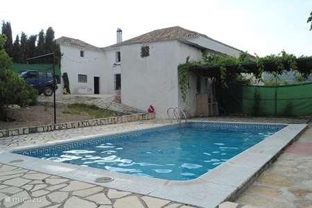 Vakantiehuis Spanje, Andalusië, Montefrio boerderij Cortijo Rosal Bajo