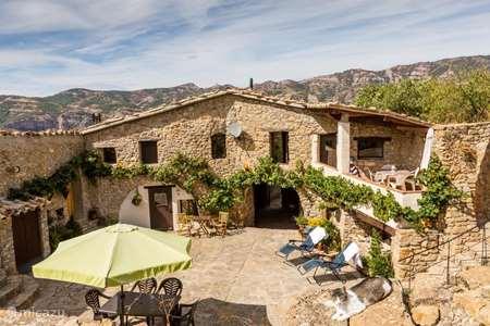 Vakantiehuis Spanje, Catalonië, Tremp appartement Casa Mauri - Farmhouse