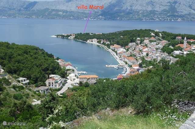 Vakantiehuis Kroatië – appartement Villa Maral Povlja op Brac App 2