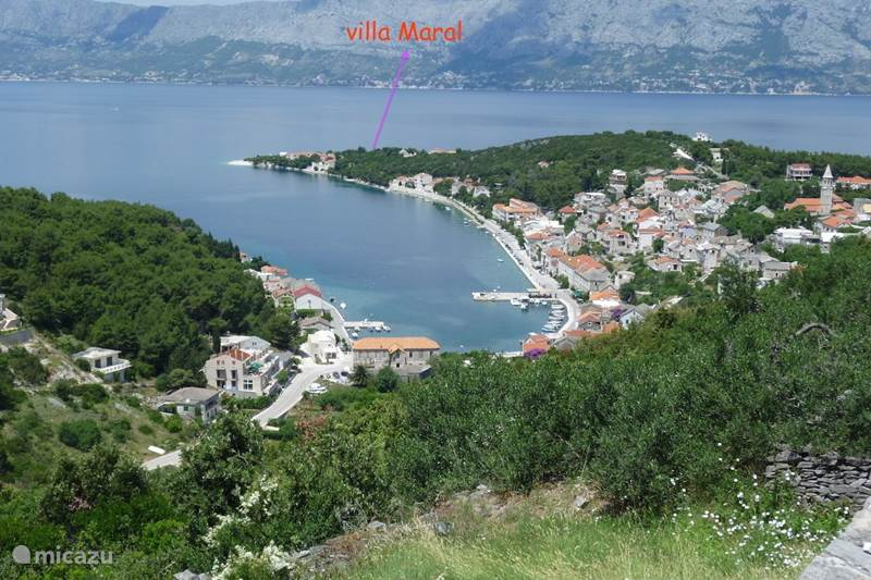Vacation rental Croatia, Brac, Povlja Apartment Villa Maral Povlja on Brac App 2