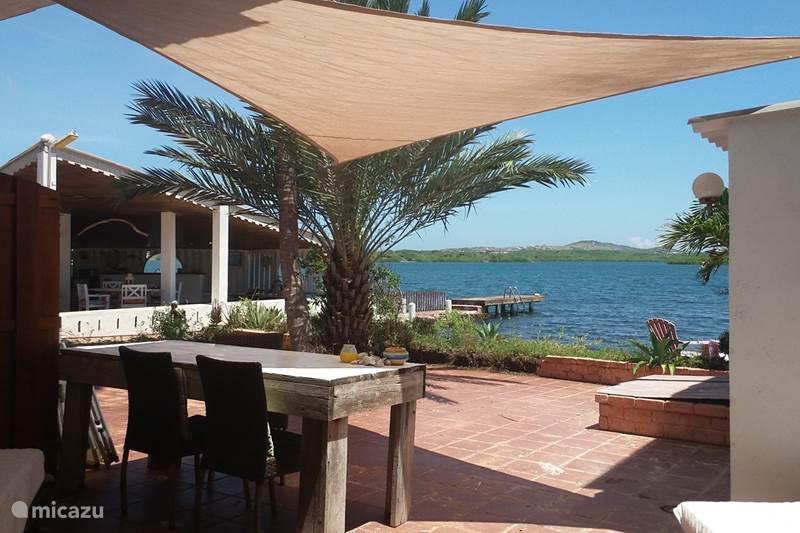 Vakantiehuis Curaçao, Banda Ariba (oost), Jan Sofat Studio Seaview, studio aan SpaanseWater