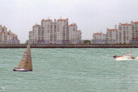 Vakantiehuis Nederland, Zeeland, Breskens appartement Appartement aan Westerschelde
