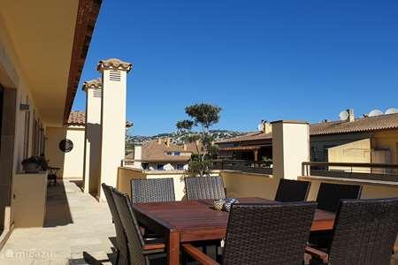 Vakantiehuis Spanje, Costa Blanca, Moraira appartement Modern penthouse centrum Moraira