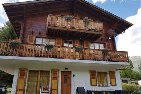 Vakantiehuis Zwitserland – chalet Chalet Verrel (beneden)