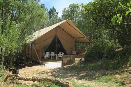 Vakantiehuis Portugal, Costa de Prata, Salir de Matos glamping / safaritent / yurt Lounge Lodge