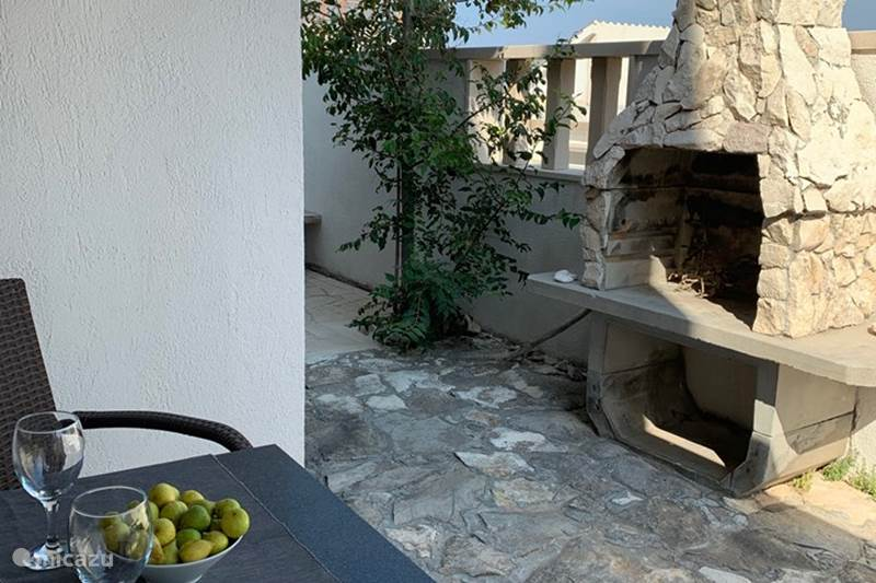 Vakantiehuis Kroatië, Brac, Povlja Appartement Villa Maral Povlja op Brac Studio 4