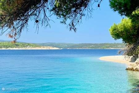Vacation rental Croatia, Brac, Povlja apartment Villa Maral Povlja on Brac App 1
