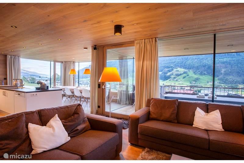 Vacation rental Austria, Salzburgerland, Bramberg Am Wildkogel Chalet Chalet Senningerblick onthe skislope