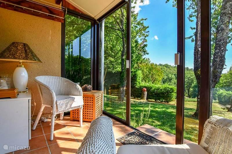 Vakantiehuis Frankrijk, Dordogne, Doissat Vakantiehuis Petite Lortal, met zwembad, WIFI