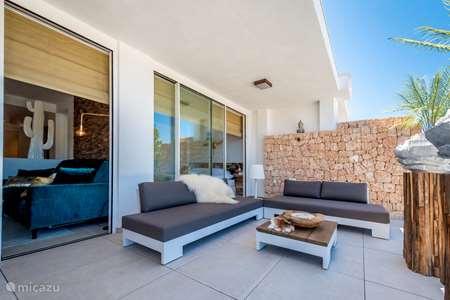 Vakantiehuis Spanje, Ibiza, Cala Tarida - appartement Papillon Ibiza