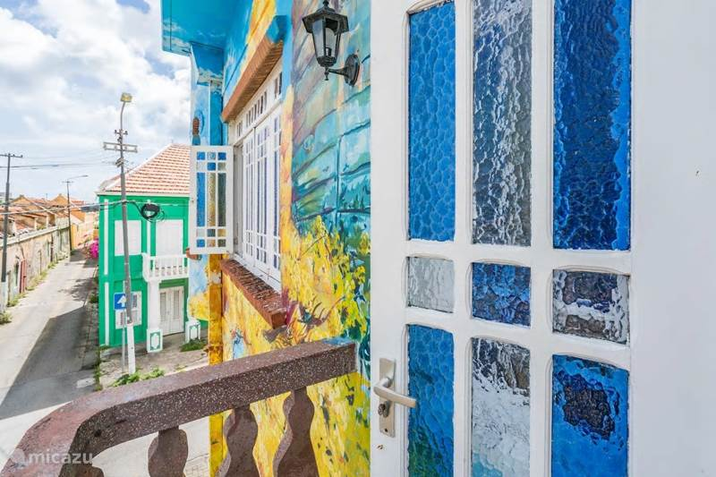 Vakantiehuis Curaçao, Curacao-Midden, Willemstad Appartement Monumentaal appartement in Punda