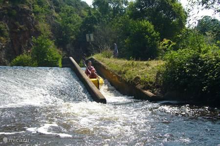 Canoeing on the Tardoire