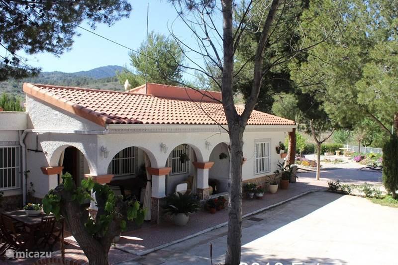 Vakantiehuis Spanje, Costa Blanca, Hondón de las Nieves Finca Casa Primavera
