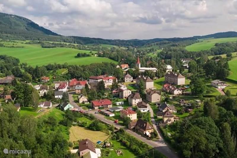 Vacation rental Czech Republic, Giant Mountains, Bernartice Holiday house Nas Dum