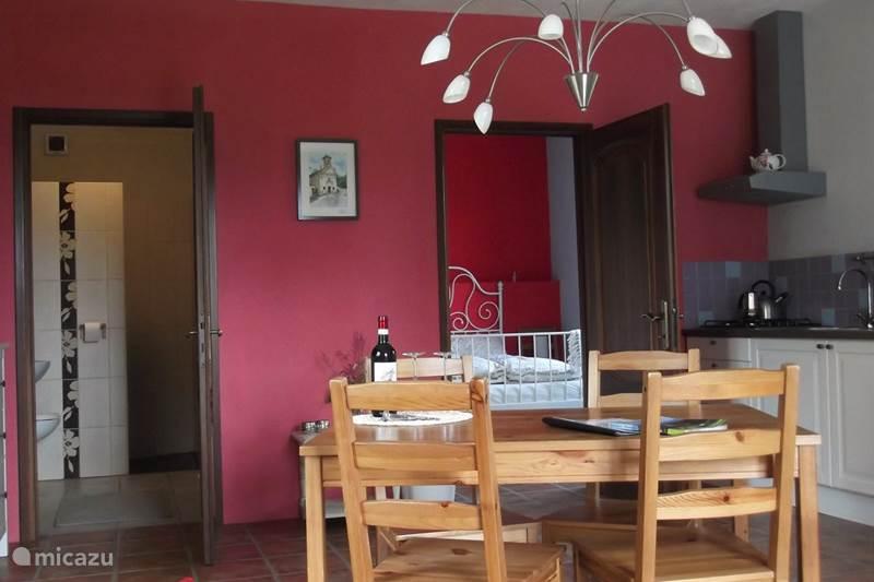 Vakantiehuis Italië, Piëmont, Murazzano Appartement Casavabene appartement Romantica