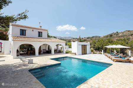 Vacation rental Spain, Costa Blanca, Benissa finca Finca Jabali
