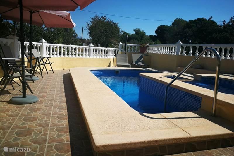 Vakantiehuis Spanje, Costa Blanca, Aigües Finca 6 pers Finca, prive zwembad &jacuzzi