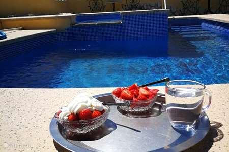 Vakantiehuis Spanje, Costa Blanca, Aigües finca 4 pers Finca met zwembad, Alicante