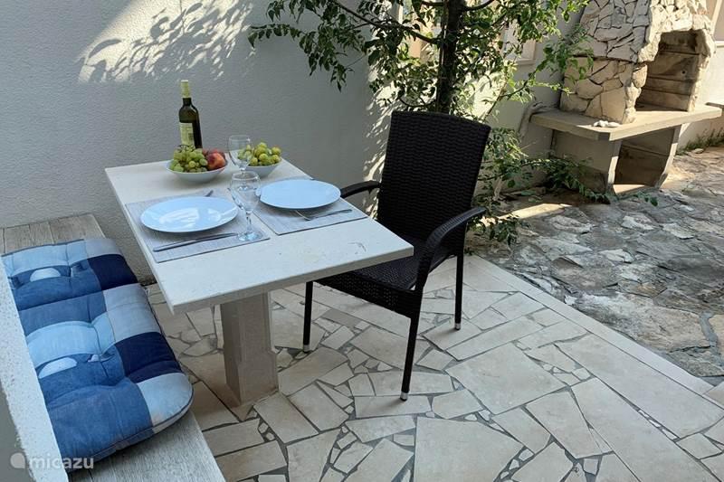 Vakantiehuis Kroatië, Brac, Povlja Appartement Villa Maral Povlja op Brac App 6