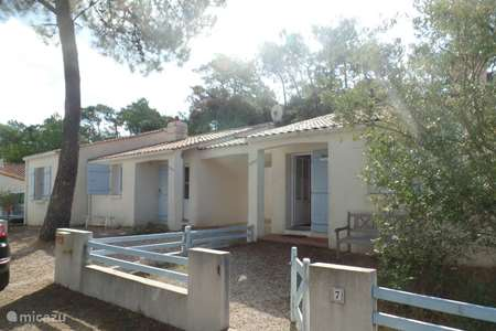 Vacation rental France, Vendee, La Tranche-sur-Mer holiday house Maison Lavande