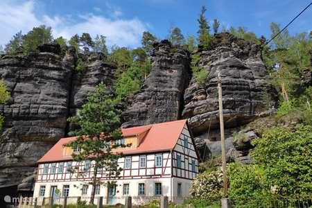 Ferienwohnung Deutschland, Sachsen, Rosenthal-Bielatal appartement Felsenkeller Bielatal Johanniswacht