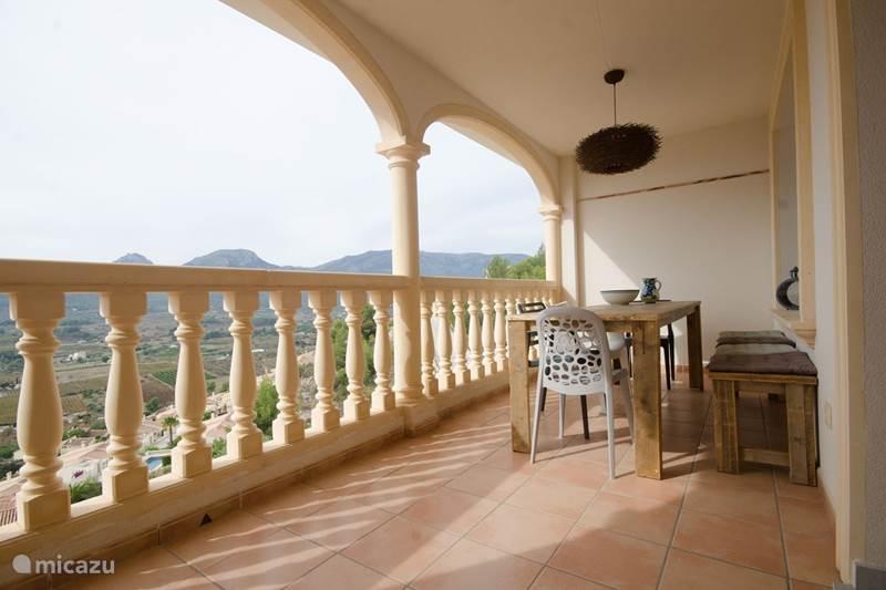 Vakantiehuis Spanje, Costa Blanca, Jalón Geschakelde woning Casa Duna Blanca