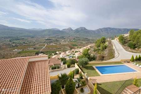 Ferienwohnung Spanien, Costa Blanca, Jalón reihenhaus Casa Duna Blanco