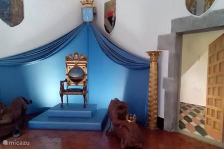 kasteeltje van Gala Dali te Pubol
