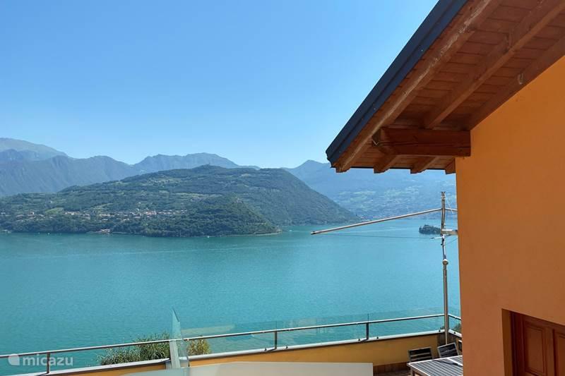 Vakantiehuis Italië, Italiaanse Meren, Tavernola Bergamasca Vakantiehuis Uitzicht op Iseomeer & privacy *****